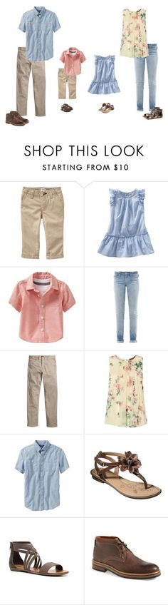 What to wear for a family photo session. by alaynaphoto on Polyvore featuring MaxMara, Marc by Marc Jacobs, Mix No. 6, Old Navy, H&M, Wolverine and OshKosh B'gosh