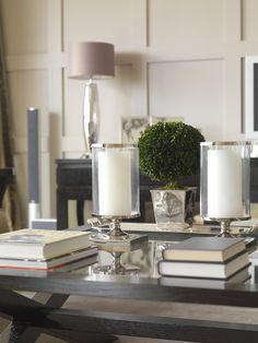 Beautiful painted walls, lamp tablescape  Furniture / Helen Turkington