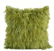 """Limited Production Design: 20"""" Green Ostrich Feather Pillow instyledecor"""