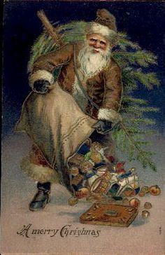 "St. Nicholas, ""A Merry Christmas."""