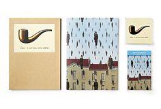 It's raining men - Magritte's Galconde and La Trahison de Images