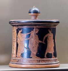 The wedding of Thetis, pyxis by the Wedding Painter, circa 470/460 BC. Paris: Louvre