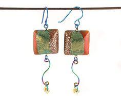 Polymer Clay Jewellery - Courtesan - Illuminare Earrings Emma Ralph