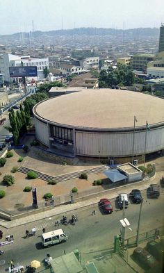 Downtown Ibadan (Old Standard Bank now First Bank)  Ibadan Oyo State Nigeria  #JujuFilms