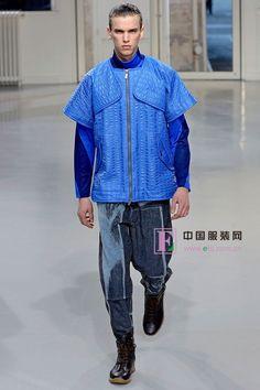 Issey Miyake 2013/14秋冬男装秀 未来感运动型男-服装图库-时尚服饰-中国服装网