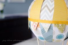 Joy's Blog: Over the Moon! Our Hot Air Balloon Baby Shower.