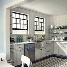 Great looking small kitchen