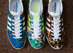"The Farm Company x adidas Originals Gazelle ""Floral"" Collection - SneakerNews.com"