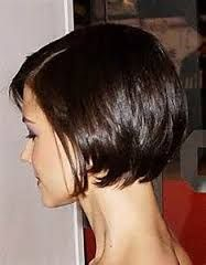 reverse bob hairstyle back view - Google Search