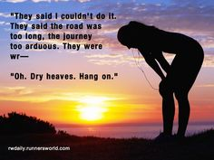 This makes me laugh...AND so true. Dry heaves have definitely stopped me mid-sentence.