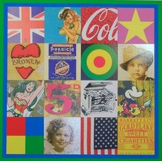 Peter Blake - Sources of Pop Art series