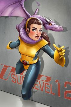 Kitty Pryde and Lockheed
