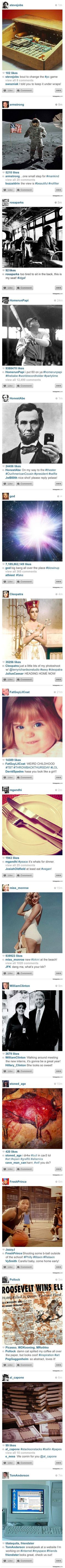 Geeky gadgets page 2 of 5863 gadgets and technology news - If Instagram Existed In The Past Here Is What 16 Famous People Might Have Posted Gadget Newstech