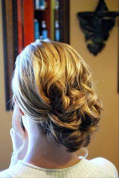 Soft side do for bride