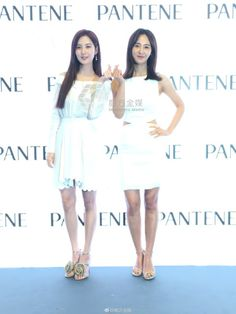 SNSD's SeoHyun and Yuri at PANTENE's event in Hong Kong