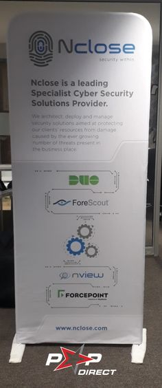 #nclose Business Place, Wall Banner, Security Solutions, Exhibition Display, Banner Printing, Banners, Pop, Expo Stand, Popular
