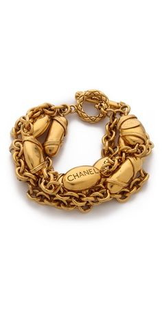 WGACA Vintage Vintage Chanel Buoys Bracelet | SHOPBOP | Use Code: INTHEFAMILY25 for 25% Off