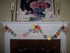 Angel Diann's Emporium Do the Bunny Hop SOLD Easter Garland, Bunny, Angel, Cute Bunny, Hare, Angels, Rabbit, Rabbits