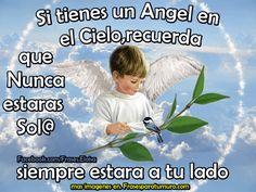 FrasesparatuMuro.com: Si tienes un Angel en el Cielo