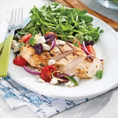 Poulet farci au jambon serrano et fromage Oka - 5 ingredients 15 minutes Healthy Eating Tips, Healthy Nutrition, Healthy Recipes, Healthy Food, Greek Cooking, Vegetable Drinks, Skinny Recipes, Greek Recipes, Food Hacks