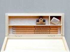Homework Pencil Box. $37.50, via Etsy.
