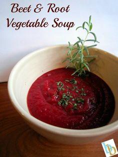 Beet & Root Vegetable Soup | Britt's Blurbs