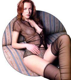 5 x Sexy Gillian Anderson A4 assorted photos