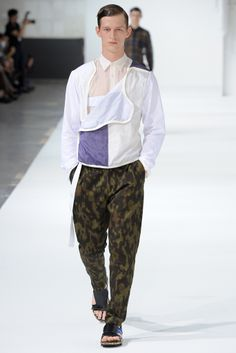 Dries Van Noten Spring 2013 Menswear Collection Slideshow on Style.com