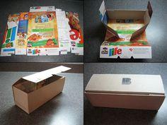 De caja de cereales a cajita para regalo