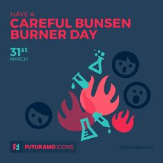 Have a careful bunsen burner day! Check out our FUTURAMO ICONS – a perfect tool for designers & developers on futuramo.com