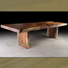 The Irondale Acacia Wood Dining Table provides a modern industrial piece for your dining room, home bar or entertainment loft. Wood Pedestal Table Base, Wood Slab Dining Table, Stainless Steel Dining Table, Dining Table Design, Dining Tables, Dining Room, Table Legs For Sale, Teak Garden Furniture, Wood Furniture