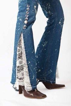 Costumização no jeans