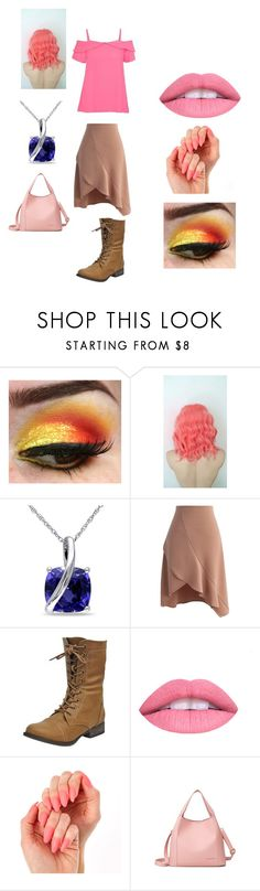 """Cupcake FNAF"" by mychristapie on Polyvore featuring Miadora, Chicwish and L.A. Girl"