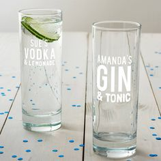 Are you interested in our gift for her? With our personalised gin glass you need look no further.