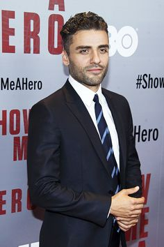 Oscar Isaac - Show Me A Hero NYC Premiere on Aug 11, 2015