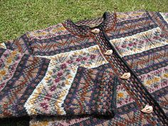 "Rona, by Alice Starmore. Pattern is published in her book, ""In the Hebrides."" Photo from Ravelry."
