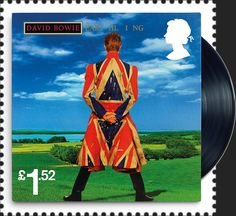 These 10 Special Stamps honour David Bowie – one of the most influential music and cultural figures of all time.