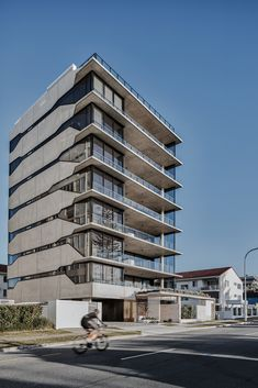 Image 1 of 21 from gallery of North Residences / bureau^proberts. Photograph by Andy Macpherson Studio Education Architecture, Architecture Awards, Commercial Architecture, Sustainable Architecture, Facade Architecture, Residential Architecture, Arch Building, Concrete Building, Building Facade