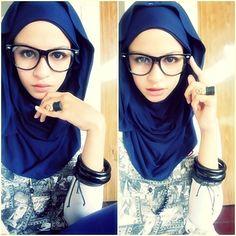 hijab glasses