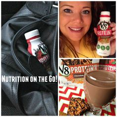 Starting the Morning Right with V8 Protein #LoveV8Protein #Ad