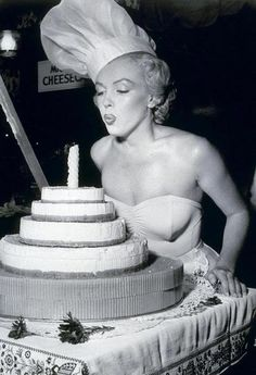 first birthday by Marilyn Monroe
