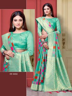 Kaisa Lichi Silk Saree, Such Saris women use to wear on Wedding Wea and Party Wear at Online Lowest Wholesale Price Shipping Worldwide Silk Sarees, Blouse Designs, Party Wear, Weaving, Sari, Clothes For Women, Formal Dresses, Link, Clothing