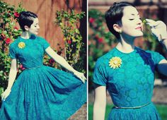 Some Retro Easter/Spring Musings (by Amanda Lynnla) http://lookbook.nu/look/3306317-Some-Retro-Easter-Spring-Musings
