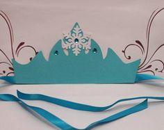 Festa Frozen - Coroa Elsa