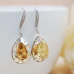Wedding Jewelry Estate Style Earrings Bridal by earringsnation