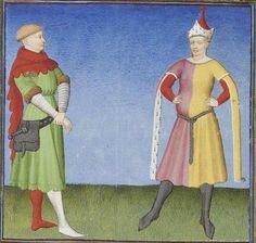 Publius Terencius Afer, Comoediae [comédies de Térence] ca. 1411; Bibliothèque de l'Arsenal, Ms-664 réserve, 62v