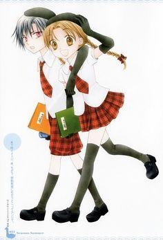 Tachibana Higuchi, Gakuen Alice, Gakuen Alice Illustration Fanbook, Natsume Hyuuga, Mikan Sakura