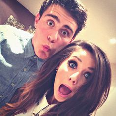 Aflie and Zoe (PointlessBlog and Zoella280390) They are so cute together, favourite YouTube/celeb couple