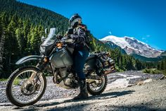 Road trip and overlanding the USA DR650SE