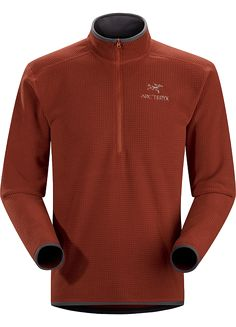 e05dacdc5fc The Arc'teryx Delta AR Zip Neck Fleece has fabric rapidly wicks away  moisture away from the skin, while still being highly breathable, light and  warm.